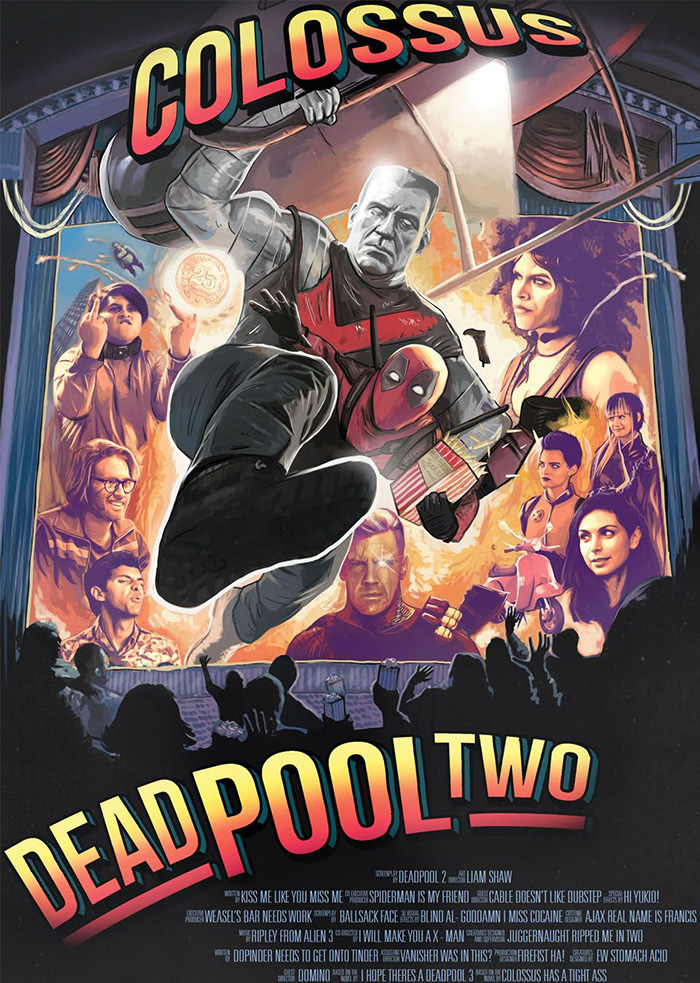 Deadpool 2 Archives Home Of The Alternative Movie Poster Amp