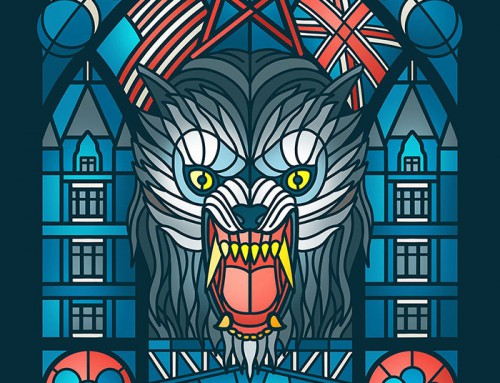 An American Werewolf in London by Bex Bloomfield