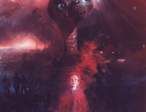 E.T. the Extra-Terrestrial by Colm Geoghegan