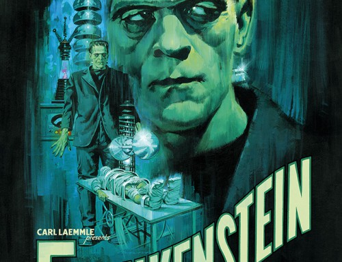 Frankenstein by Paul Mann