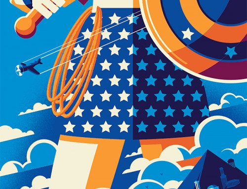 Wonder Woman by Tom Whalen