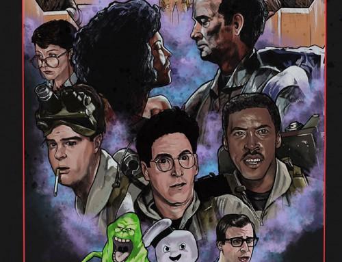 Ghostbusters by Antni Ellison