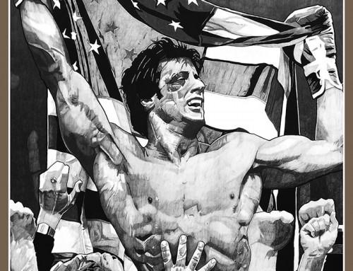 Rocky IV by Carles Ganya