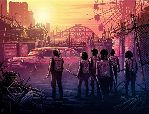 The Warriors by Dan Mumford