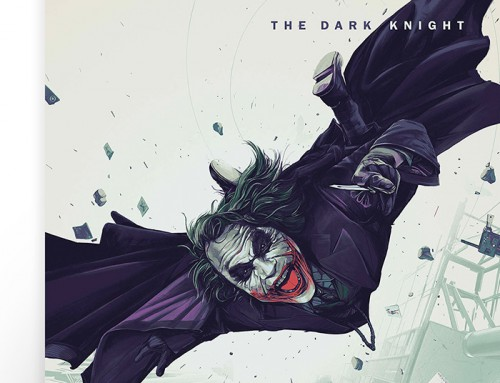 The Dark Knight by Oliver Barrett