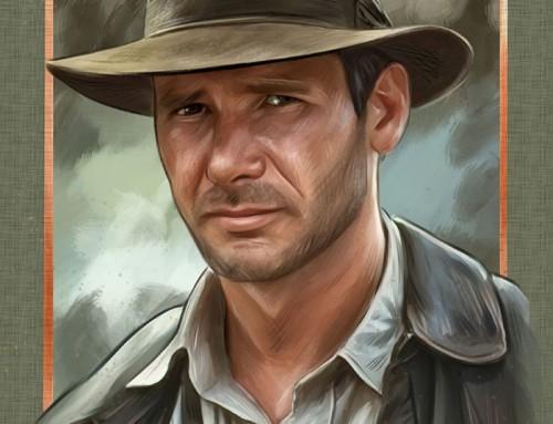 Indiana Jones by Oscar Martínez