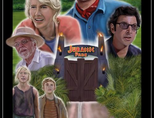 Jurassic Park by Robert Jones