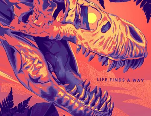 Jurassic Park by Dustin Knotek