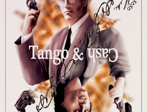 Tango & Cash (30×30 1989-90) by Simon Delart