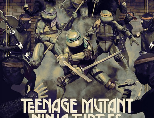 Teenage Mutant Ninja Turtles (30×30 1989-90) by Alberto Reyes