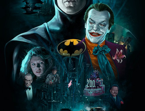Batman (30X30 1989-90) by Ruiz Burgos