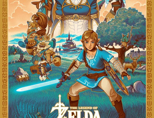 Legend of Zelda: Breath of the Wild by C.A. Martin