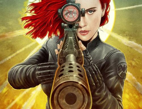 Black Widow by Neil Davies