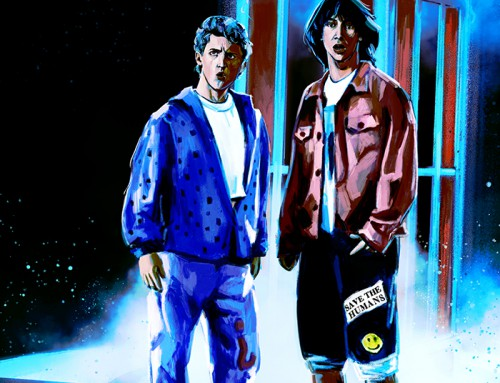Bill and Ted's Excellent Adventure (30×30 1989-90) by Relly Coquia