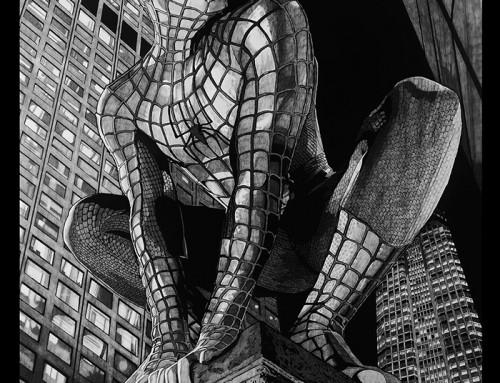 Spider-Man by Carles Ganya