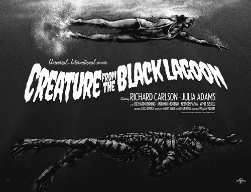 Creature from the Black Lagoon by Jason Cortez