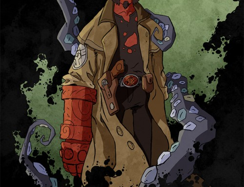 Hellboy by Alex Dearman
