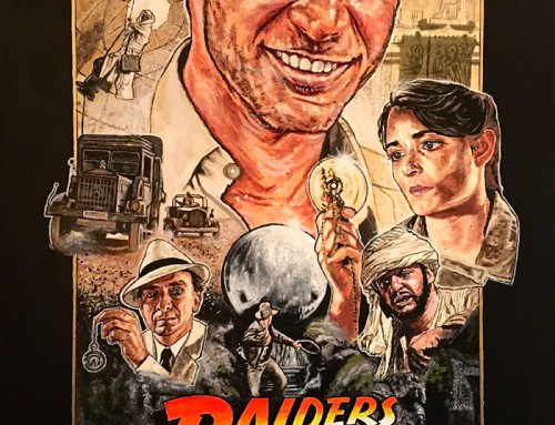 Raiders of the Lost Ark by Matt Dammer