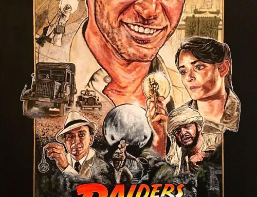 Raiders of the Lost Ark by Matt Dammer