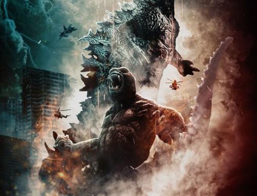 Godzilla vs. Kong by Geoffrey Riccio