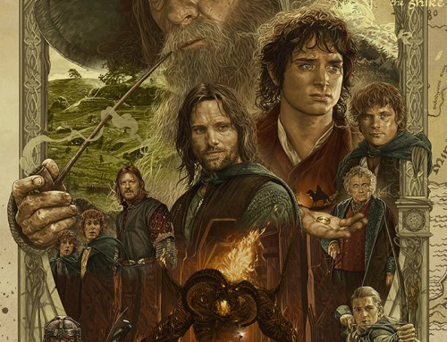 The Lord of the Rings: The Fellowship of the Ring by Ruiz Burgos
