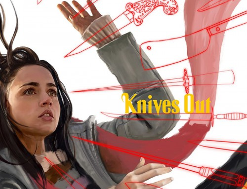 Knives Out by Ben Holmes