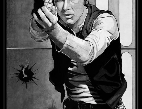 Han Solo by Carles Ganya