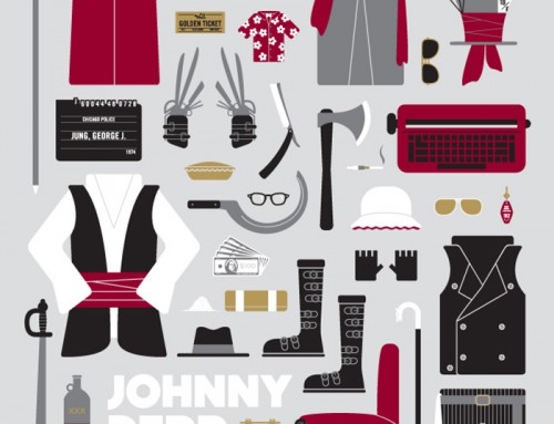 Johnny Depp Parts by Emma Butler