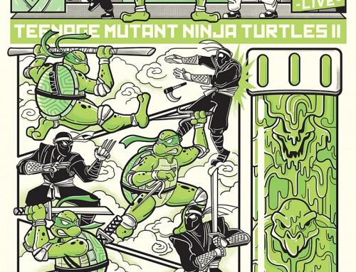 Teenage Mutant Ninja Turtles II: The Secret of the Ooze by Lauren Rubin