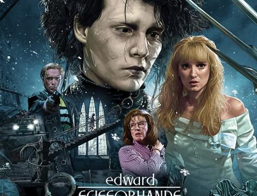 Edward Scissorhands by Ruiz Burgos