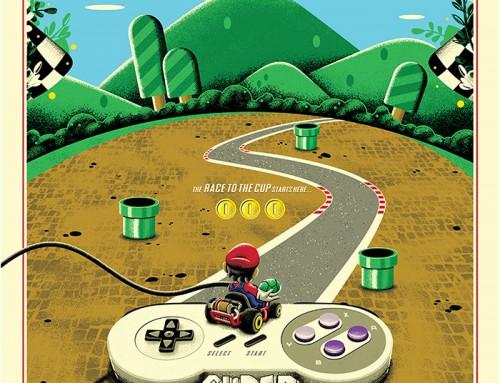 Super Mario Kart by Derek Payne