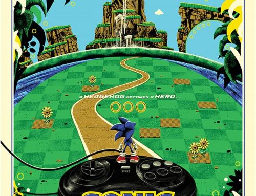 Sonic the Hedgehog by Derek Payne