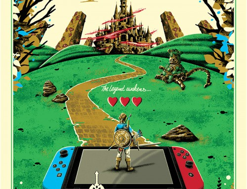 The Legend of Zelda: Breath of the Wild by Derek Payne