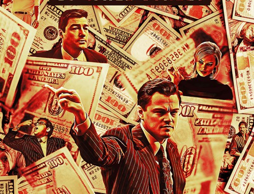 The Wolf of Wall Street by Rough Deontas