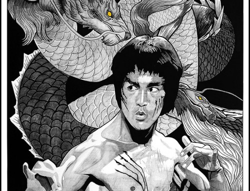 Enter The Dragon by Carles Ganya