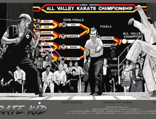 The Karate Kid by Carles Ganya