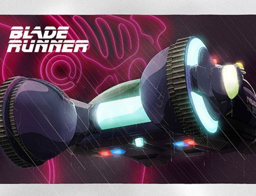 Blade Runner by Justin Froning