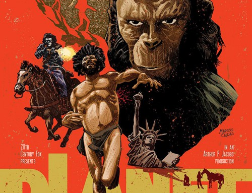 Planet of the Apes by Marcos Caldas Silva