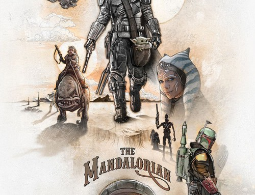 The Mandalorian by Steve Anderson