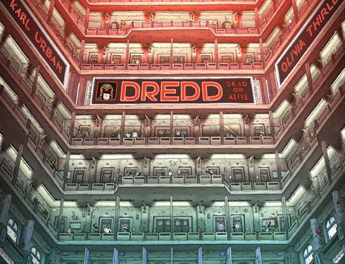 Dredd by Morgan Girvin