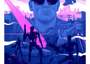 Terminator 2 Alternative Movie Poster