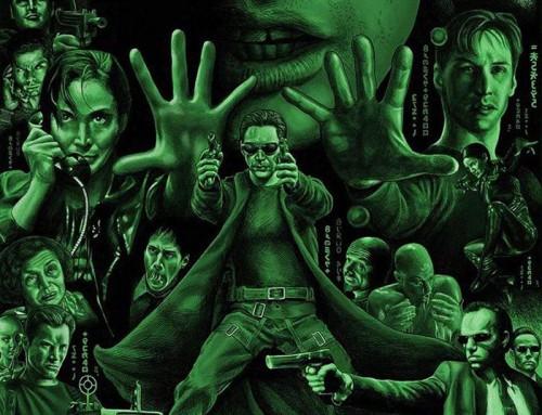 The Matrix by Faron Flood