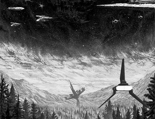 Star Wars: Return of the Jedi by Kilian Eng