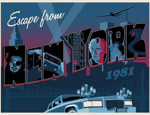 Escape from New York by Steve Thomas