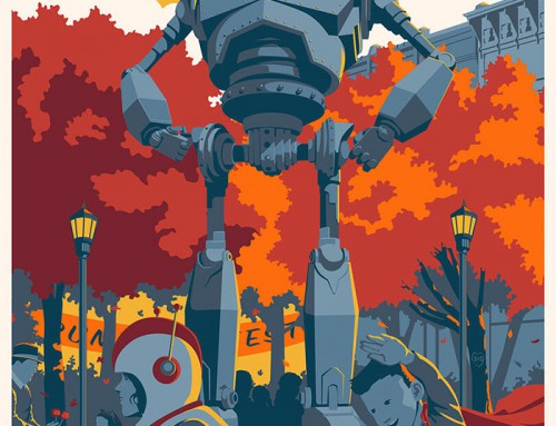 The Iron Giant by Steve Thomas